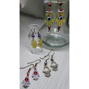 Hand of Fatima 4 earrings