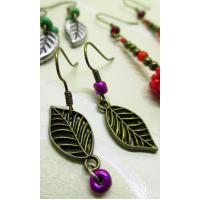 Leaf 4 earrings