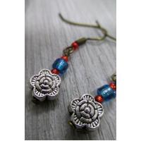 Flower 4 earrings