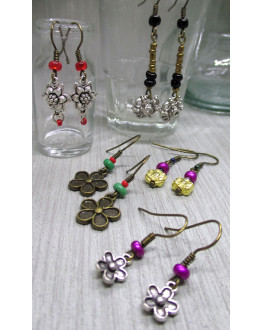 Flower 5 earrings