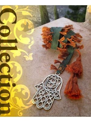 Hand of Fatima long Necklace - Collection